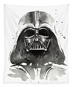 Darth Vader Watercolor Tapestry