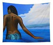 Vahine De Tahiti Tapestry