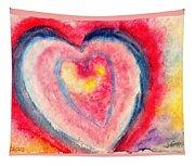 Valentine Heart Tapestry