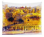 Valletta Capital Of Malta Tapestry