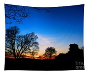 Valley Forge Evening  Tapestry