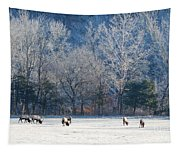 Valley Of Elk Tapestry