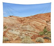 Valley Of Fire - Fire Wave Panorama Tapestry
