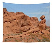Valley Of Fire Rock Formations Tapestry