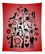 Vampire Art Tapestry