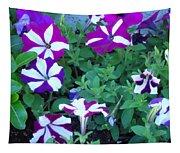 Variegated Petunias Tapestry