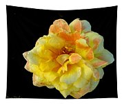 Variegated Yellow Rose Tapestry