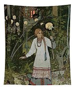 Vassilissa In The Forest Tapestry