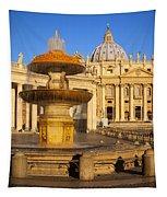 Vatican Morning Tapestry