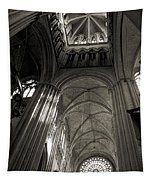 Vaults Of Rouen Cathedral Tapestry
