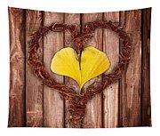 Vegetal Hearts Tapestry