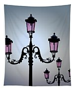 Venetian Lamps Tapestry by Dave Bowman