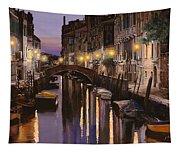 Venezia Al Crepuscolo Tapestry
