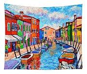 Venezia Colorful Burano Tapestry