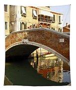 Venice Bridge Tapestry