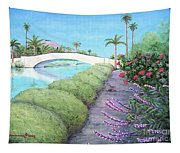 Venice California Canals Tapestry