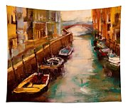 Venice Canal Tapestry