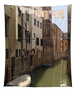 Venice Laundry Day Tapestry