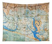 Venice: Map, 1546 Tapestry