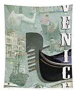 Venice Montage 2 Tapestry