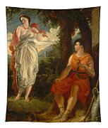 Venus And Anchises Tapestry