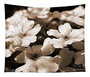 Verbena Named White Hail Tapestry