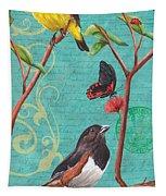 Verdigris Songbirds 2 Tapestry