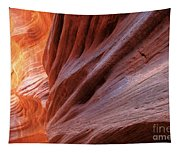 Vermilion Canyon Walls Tapestry