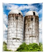 Vermont Silos Tapestry
