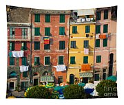 Vernazza Facades Tapestry