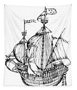 Verrazzano's Ship Tapestry