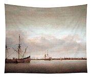 Verwer's View Of Hoorn Tapestry
