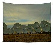 Very Large Array Near Socorro New Mexico Tapestry