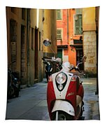 Nicoise Scooter Tapestry by Inge Johnsson