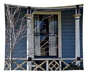 Victorian Home In Napa Valley Tapestry