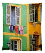 Vieille Ville Windows Tapestry