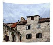 Vies Of Split Croatia Tapestry