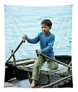 Vietnamese Boy Tapestry