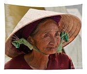 Vietnamese Lady Tapestry