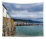 View From Back Beach - Lyme Regis Tapestry