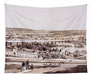 View From Gambles Hill, Richmond Tapestry
