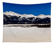 View From Meadow Creek Resevoir Tapestry
