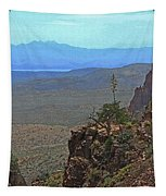 View From Parker Creek Canyon Tapestry