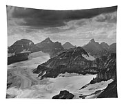 T-303501-bw-view From Quadra Mtn Looking Towards Ten Peaks Tapestry