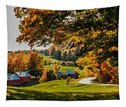View From The Hill Tapestry