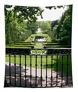 View From The Jefferson Porch Tapestry