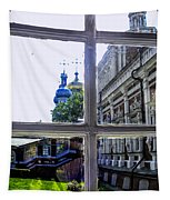 View From The Novodevichy Convent - Russia Tapestry