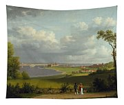 View North Of Kronborg Castle Tapestry