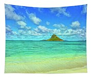 View Of Chinaman's Hat Tapestry