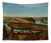 View Of Fort Snelling Tapestry